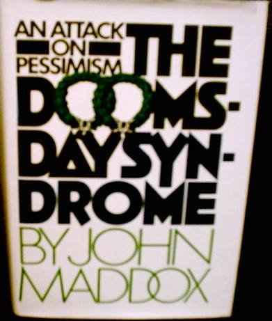 The doomsday syndrome: John Royden Maddox: 9780070394285: Amazon.com: Books