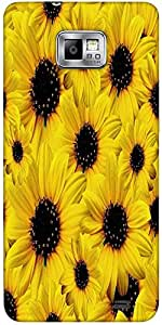 Snoogg Seamless Yellow Daisy Flower Pattern Protective Case Cover For Samsung...