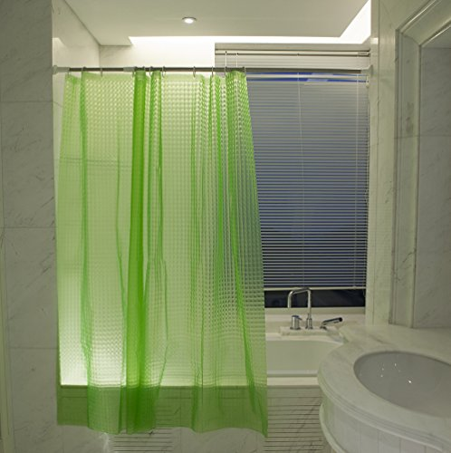 Best Token Mildew-free EVA 3d Design Bathroom Shower Curtain Liner ,70