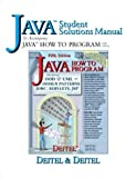 Java Student Solutions Manual to accompany Java How to Program (5th Edition)