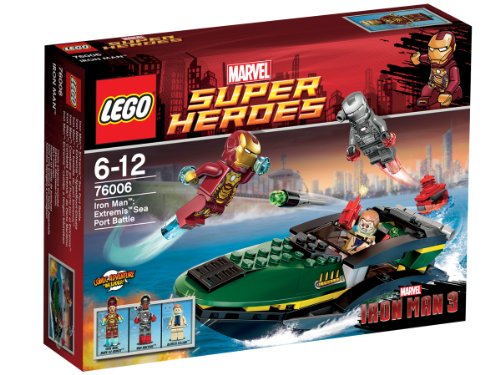 Lego Super Heroes Iron Man:? Seaport Battle 76006