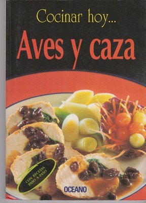 Aves y caza/ Birds and Hunt (Cocinar Hoy) (Spanish Edition) by Itos Vazquez
