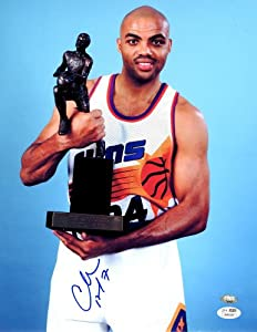 Charles Barkley Signed Phoenix Suns Photo - 11x14 SM - JSA Certified - Autographed... by Sports Memorabilia