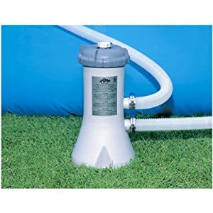 amazon com intex 58603e recreation 530 gallon pool filter pump patio