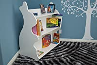 Rabbit Mobile Double-Sided Bookcase