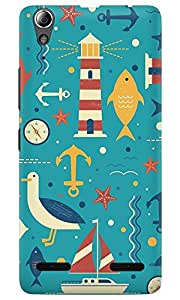 Dreambolic THE THINGS PATTERNS GRAPHIC Lenovo A6000 Back Cover