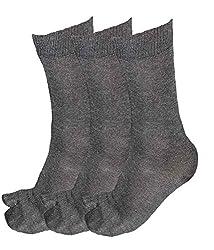 Alfa Ladies Woolly Thumb Socks - Pack Of 3 (Assorted Color)