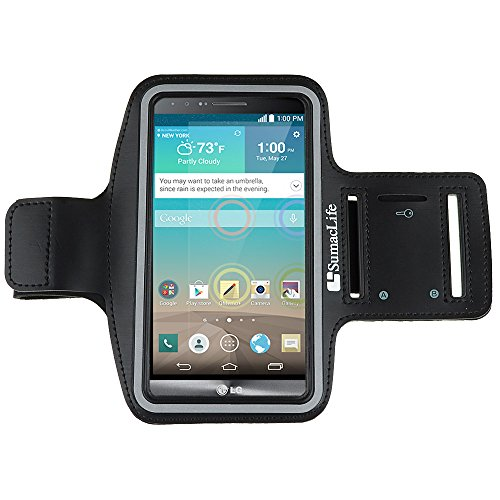 Sumaclife Active Sport Lg G3 Armband 2014 Smartphone (At&T, T-Mobile, Sprint, Verizon) (Black)