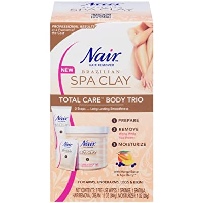 Best Cheap Deal for Nair Brazilian Spa Clay Total Care Body Trio, 12 Ounce from Church & Dwight - Personal Care - Free 2 Day Shipping Available