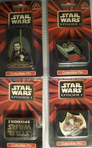 Star Wars Episode 1 Collectible Qui-Gon Jinn Pin