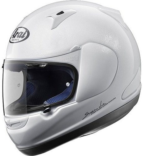 51QGEAWXTQL Arai RX Q Helmet   Solid Diamond White   Small