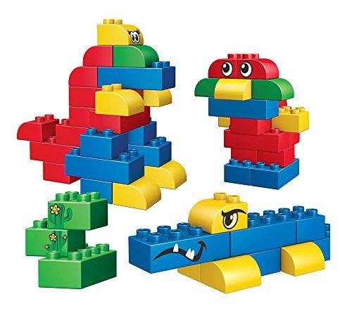 Mega Bloks Junior Builders - Endless Building! 60 Piece, Mini Sized Blocks - 1