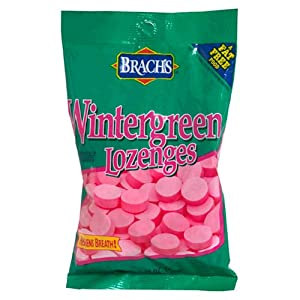 Brach's Wintergreen Lozenges, 7.75-Ounce Bags (Pack of 12)