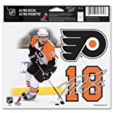 "Philadelphia Flyers Official NHL 4.5""x6"" Car Window Cling Decal at Amazon.com"