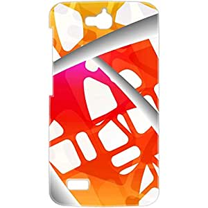 a AND b Designer Printed Mobile Back Cover / Back Case For Huawei Honor Holly (HON_HOL_3D_1764)