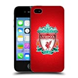 Official Liverpool FC LFC Red Pixel 1 LFC Crest 2 Hard Back Case Cover for Apple iPhone 4 / 4S