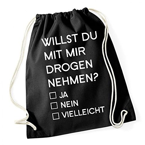 Willst Du Mit Mir Drogen Nehmen Borsa De Gym Nero Certified Freak
