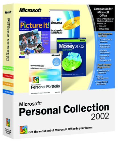 Microsoft Personal Collection 2002
