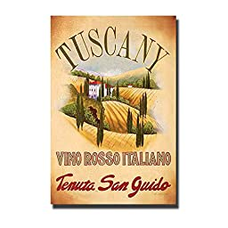 Tuscany by Val Bustamonte Premium Gallery-Wrapped Canvas Giclee Art (Ready to Hang)