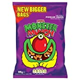 Monster Munch Pickled Onion Snacks 12x98g