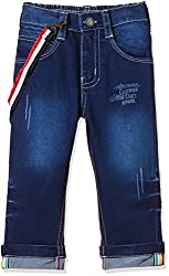 Seals Boys' Jeans (AM8084_1_NAVY_10)