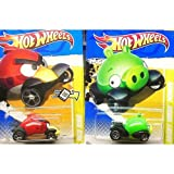 Hot Wheels Angry Birds RED BIRD & MINION PIG