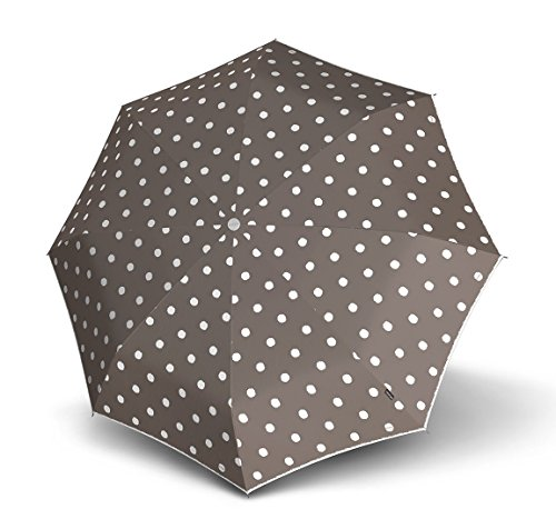 knirps-manual-piccolo-taschenschirm-20-cm-dot-art-taupe