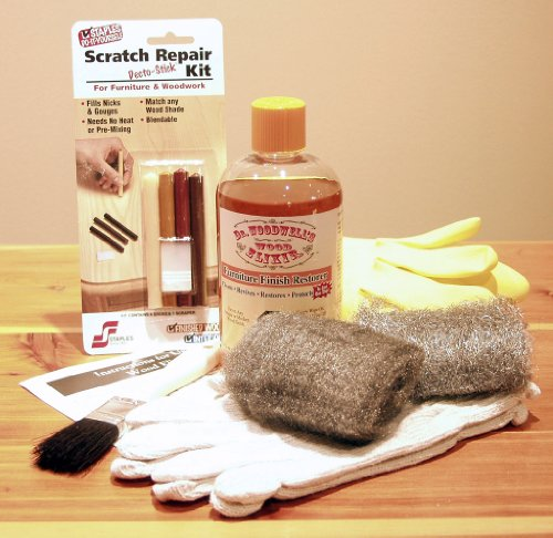 Dr. Woodwell'S One-Step Furniture Restoration Kit