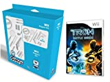 Captain Gadget Disney Tron Evolution Battle Grids Wii bundle including 13 accessories