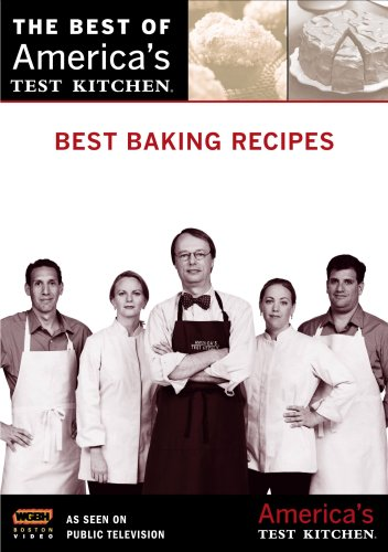 Best Baking Recipes: America's Test Kitchen [DVD] [2007] [Region 1] [US Import] [NTSC]