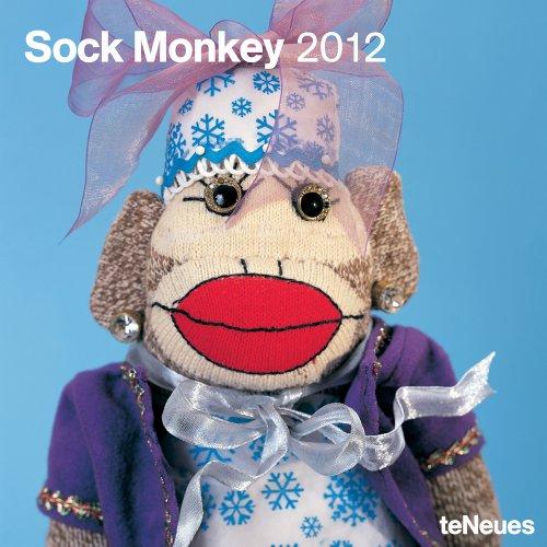 2012 Sock Monkey Wall Calendar