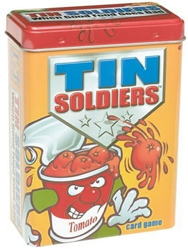 Tin Soldiers Collectible Card Game Tin: Throwing Tomato Can