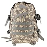 Imported 3D 40L Waterproof Tactical Military Backpack School Hiking Travel Bag ACU