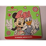 Disney Foam Covered Board Book ~ Minnie Mouse: Summer Memories