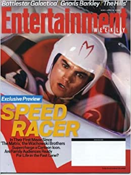 Entertainment Weekly April 4, 2008 Emile Hirsch/Speed