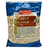 Arrowhead Mills Organic Puffed Kamut Cereal, 6 Ounce Bags (Pack of 12)