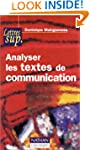 Analyser textes communication