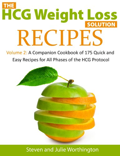 HCG Recipes (The HCG Weight Loss Solutions: A Companion Cookbook with 175 Recipes for ALL Phases of the HCG Protocol)