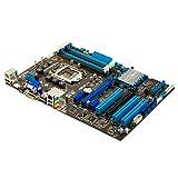 P8Z77-V LX; LGA 1155; Intel Z77; 4 x DDR3 1600+MHz; Intel HD Graphics; 2 x PCI Express (2-Way/Quad-GPU CrossFireX; LucidLogix Virtu MVP); 4 x SATA 3.0Gb/s; 2 x SATA 6.0Gb/s; UEFI BIOS; ATX (P8Z77-V LX)