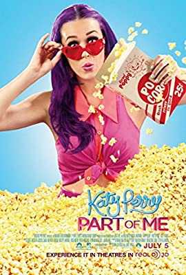 Katy Perry Part of Me Movie Poster 18'' X 28''