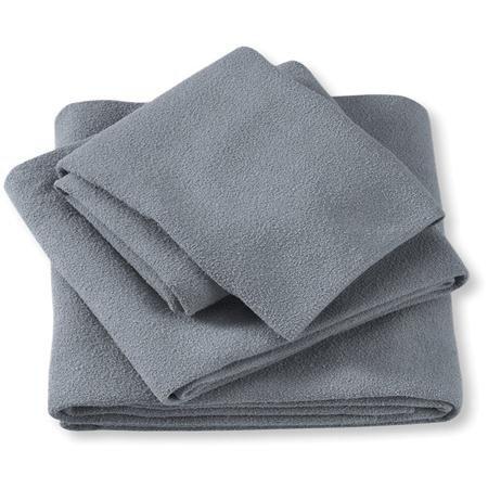 Aquis Adventure Towel Large/Black - Aquis