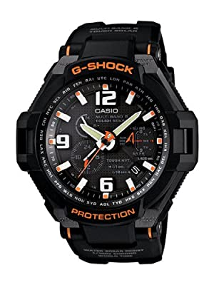 Casio Men's GW4000-1A G-Shock Shock Resistant Black Resin Analog Sport Watch