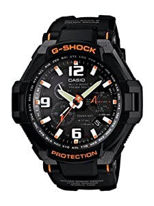 Casio G-Shock Aviation Multi-Band 6 Black/Red GW4000-1ACR