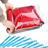 10 Pack Space Saver Travel Compress Roll-up Storage Bags