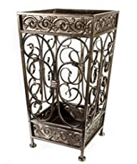 Brelso Super Quality Umbrella Stand, Umbrella Holder, Antique Look Metal, Entry Hallway Décor,…