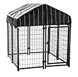 Lucky Dog CL 60445 Pet Resort Kennel with Cover, 55 x 4 x 4'