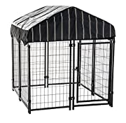 Lucky Dog CL 60445 Pet Resort Kennel with Cover, 52