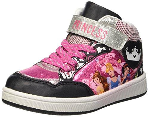 Walt Disney Sneaker, Scarpe da Neonato Bambina, Nero, 23 EU