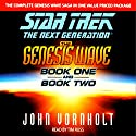 Star Trek, The Next Generation: The Genesis Wave, Book 2 (Adapted)  by John Vornholt Narrated by TIm Russ