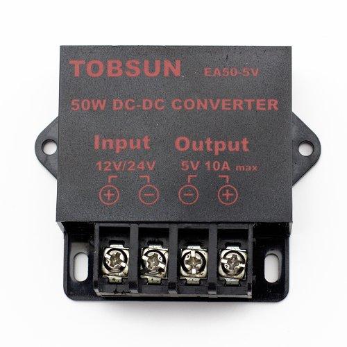 Supernight (Tm) Led Strip Strings Power Supply Dc 12V 24V To 5V 10A 50W Dc Volt Converter Step Down Regulator Dc Voltage Transformer front-22589